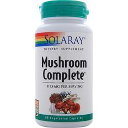 Buy Solaray, Mushroom Complete, 60 vcaps at Herbal Bless Supplement Store