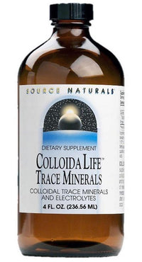 Buy Source Naturals, ColloidaLife™ Trace Minerals, 4 oz at Herbal Bless Supplement Store