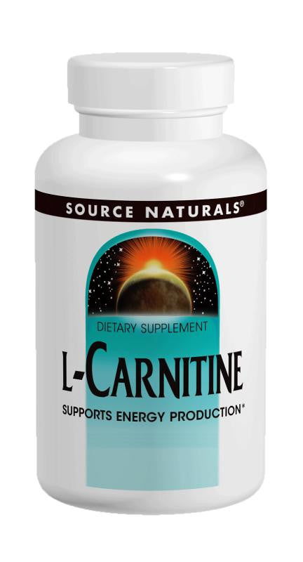 Buy Source Naturals, L-Carnitine (tartrate) 500mg, 30 capsule at Herbal Bless Supplement Store