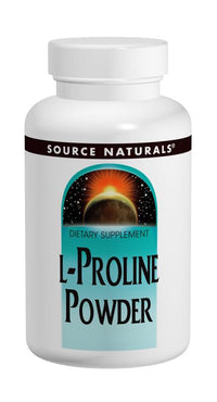 Buy Source Naturals, L-Proline Powder, 4 oz at Herbal Bless Supplement Store
