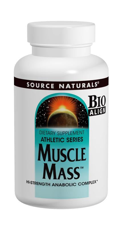 Buy Source Naturals, Muscle Mass™ - Athletic Series, Anabolic Complex, 30 tablet at Herbal Bless Supplement Store