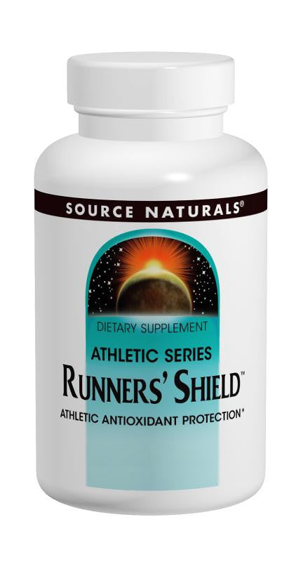 Buy Source Naturals, Runners' Shield™ Athletic Antioxidant Protection, 30 tablet at Herbal Bless Supplement Store