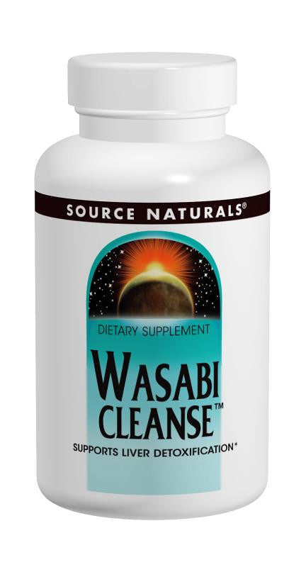 Buy Source Naturals, Wasabi Cleanse™ 200mg, 30 tablet at Herbal Bless Supplement Store