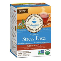 Buy Traditional Medicinals, Organic Stress Ease Cinnamon Tea .85oz at Herbal Bless Supplement Store