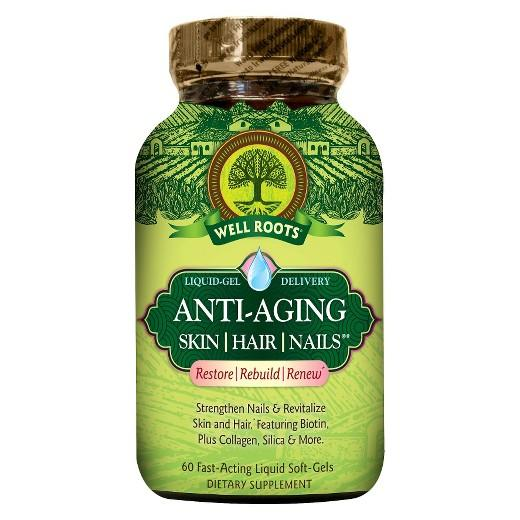Buy Well Roots Anti-Aging Skin•Hair•Nails Softgels - 60 Count at Herbal Bless Supplement Store