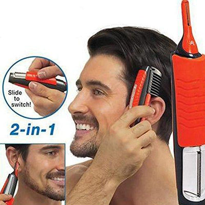 2 in 1 Electric Shaver Razor Hair Trimmer