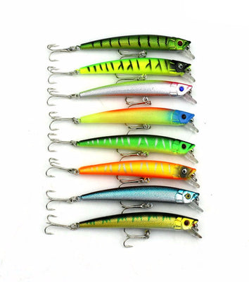 43 PCS High Quality Fishing Lure Set