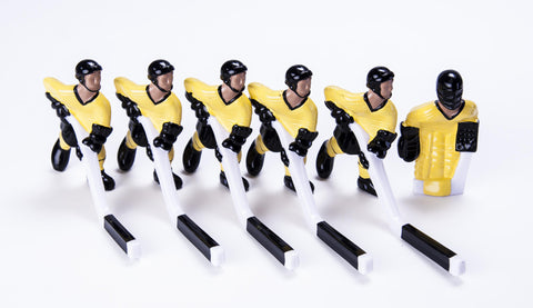 Full Team with Steel Rod attachment, Yellow and Black