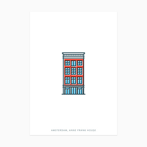 AMSTERDAM Postcard Set
