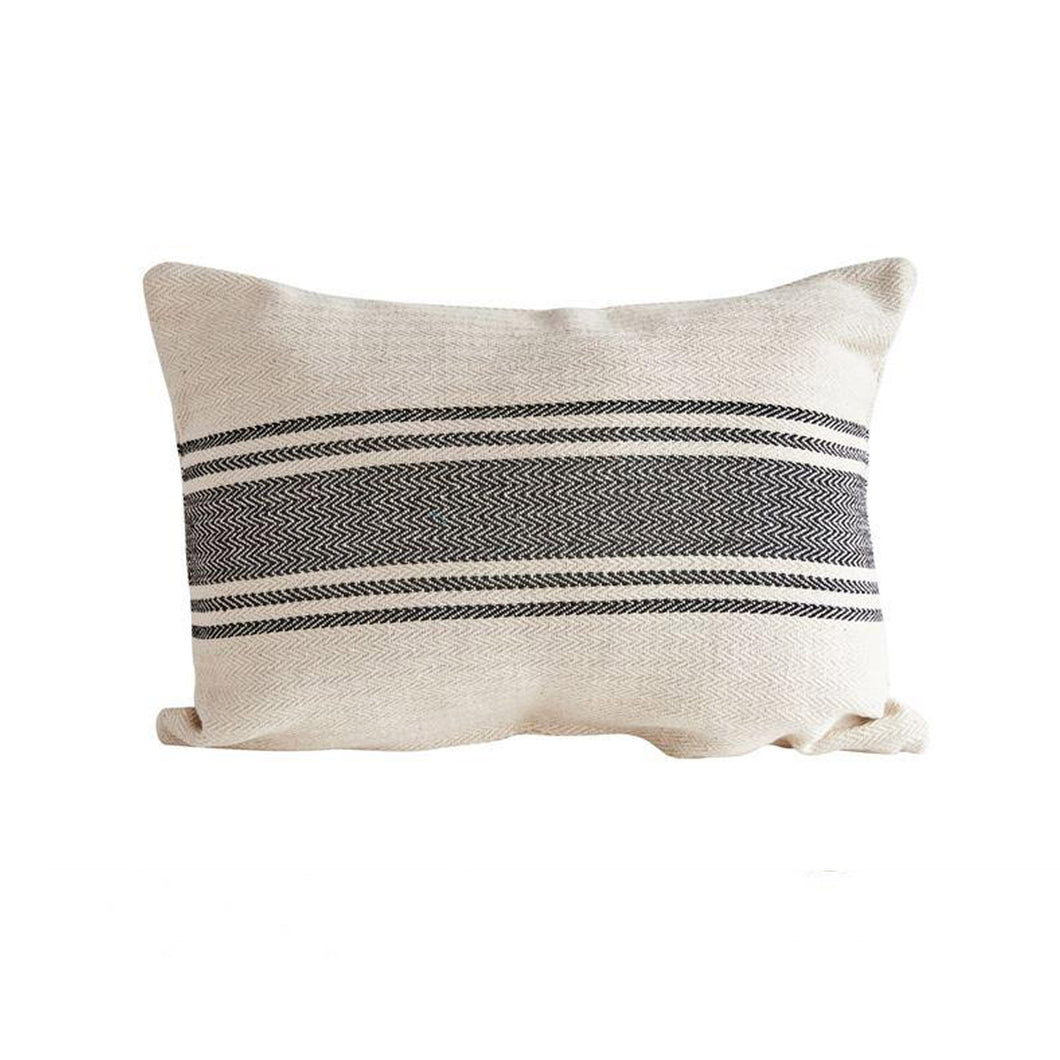 VILLAGE CANVAS PILLOW