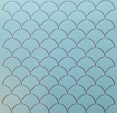 "2"" x 2"" Clam Shell Background"
