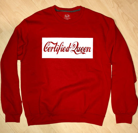 Red Certified Queen Sweater by UGQ for AllThingsTrill.com