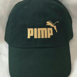 Green and Gold Pimp C dad hat
