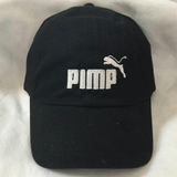 Black and White Pimp C Dad Hat