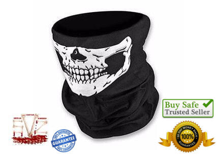 Almost FREE - Bandana skull face mask multifunction