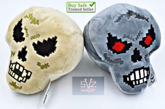 Almost FREE -  Skull Plush Style Minecraft