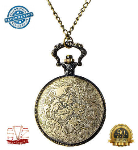 2A Skull pocket watch 3D