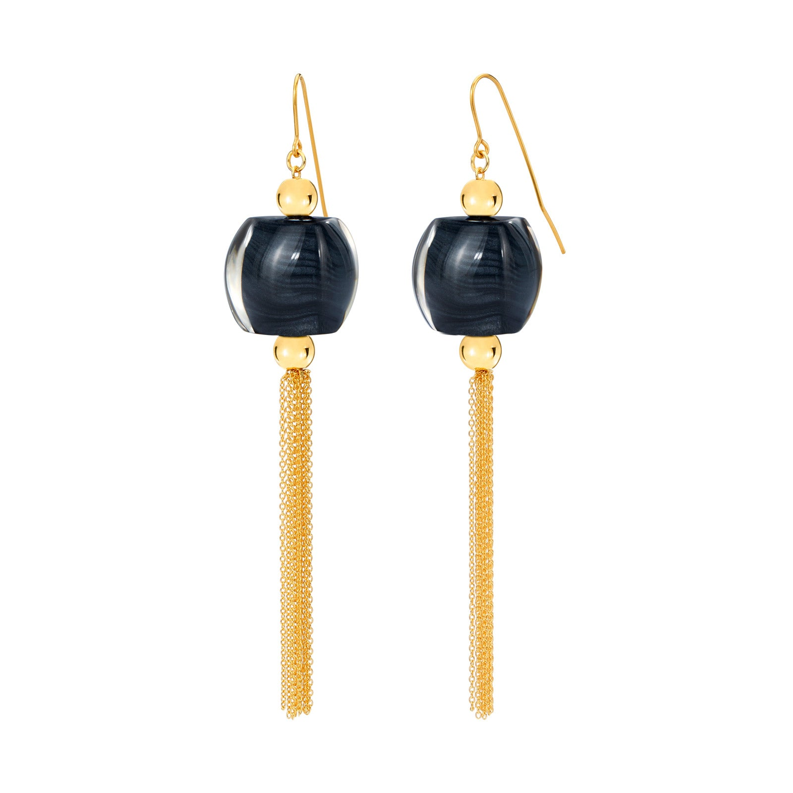 Tassel Lucite Earrings