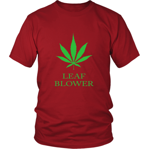 Cannabis Leaf Blower T-Shirt