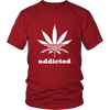 Image of AddictedLeaf T-shirt 420 Weed Shirts