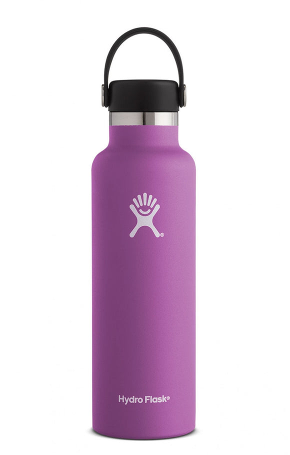Hydro Flask Raspberry 21 oz Standard Mouth Water Bottle