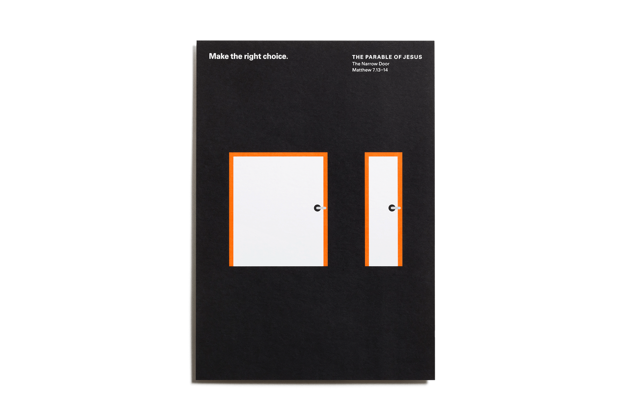 The Parable of Jesus, Postcards – Door