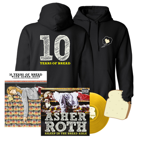 Asleep in the Bread Aisle 10 Year Anniversary Bundle (Autographed)