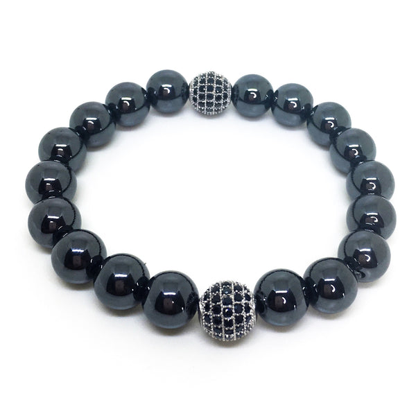Promise Me Magnetic Stretch Beaded Bracelet