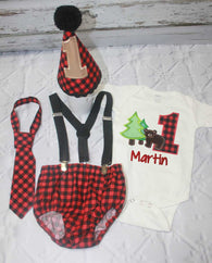 Boys Cake Smash Outfit,Bear Trees Cake Smash Outfit Smash,Camping Cake Smash,Boys First Birthday Clothes,