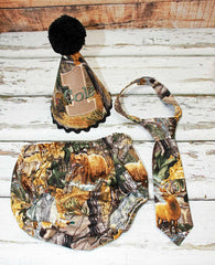 Boys Cake Smash Outfit,Hunting Camo Smash Outfit,Farm Cake Smash,Boys First Birthday Clothes,