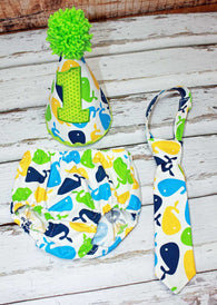 Boys Cake Smash Outfit,Whales Cake Smash Outfit,Farm Cake Smash,Boys First Birthday Clothes,