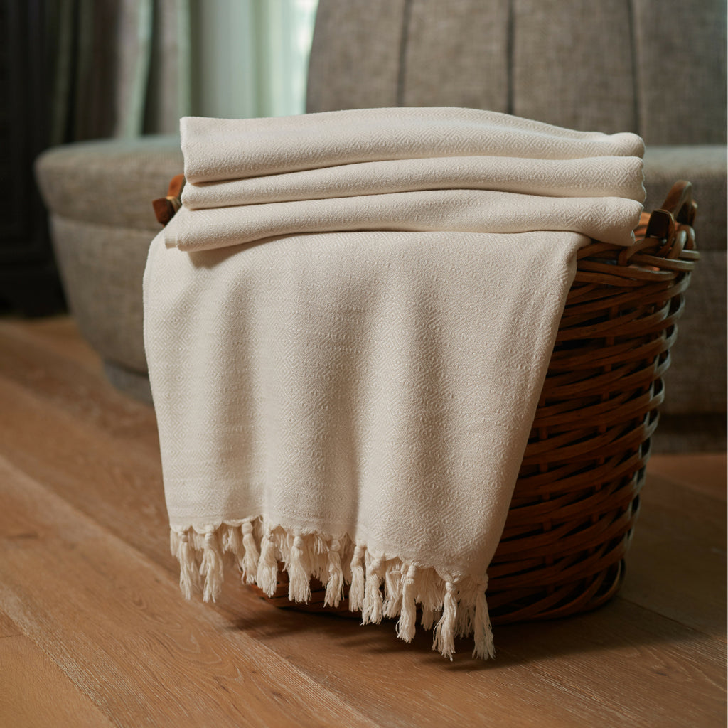 Bamboo Throw Blankets | Ultra Soft Heavyweight Natural Blankets by Lushrobe