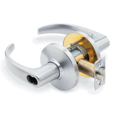 Stanley Best 9K Series Grade 1 Cylindrical Lockset Less Core with 14D Style Lever