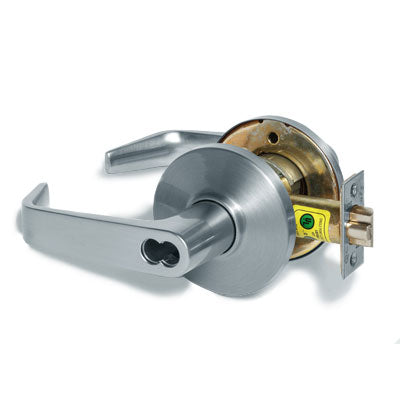 Stanley Best 9K Series Grade 1 Cylindrical Lockset Less Core with 15D Style Lever