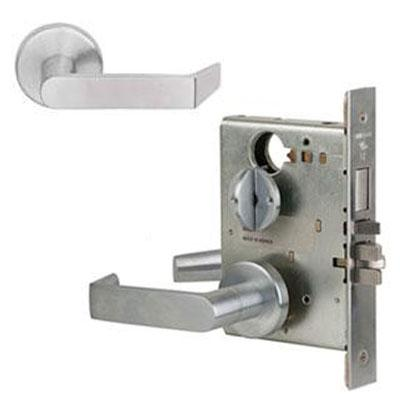 Schlage L9040S 06A 626 Brushed Chrome Finish Privacy Lever Mortise Lock With Cylinder