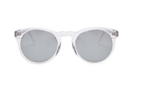 Soft Rounded Mirrored Supernormal Sunglasses