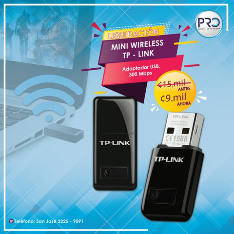 Mini Wireless TP-Link