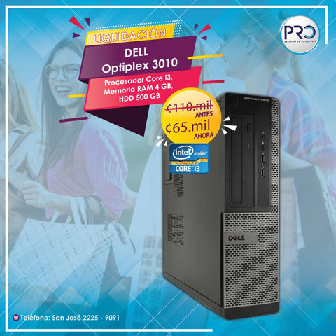 Computadora Dell Optiplex 3010