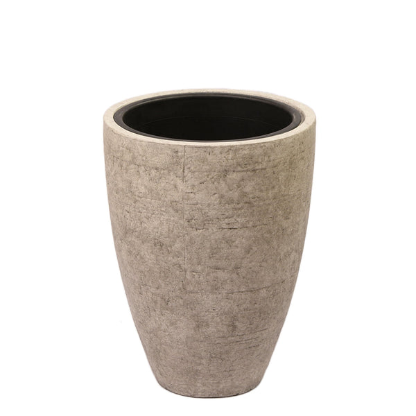 Medium Round Ficonstone Tree Pot