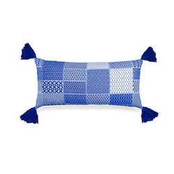 Santorini Lumbar Cushion - Blue