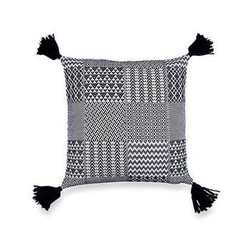 Santorini Accent Cushion, Black
