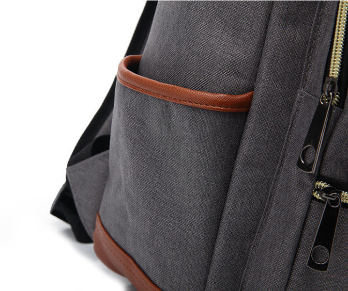 Oxford Laptop Backpack (Unisex) - Baliva