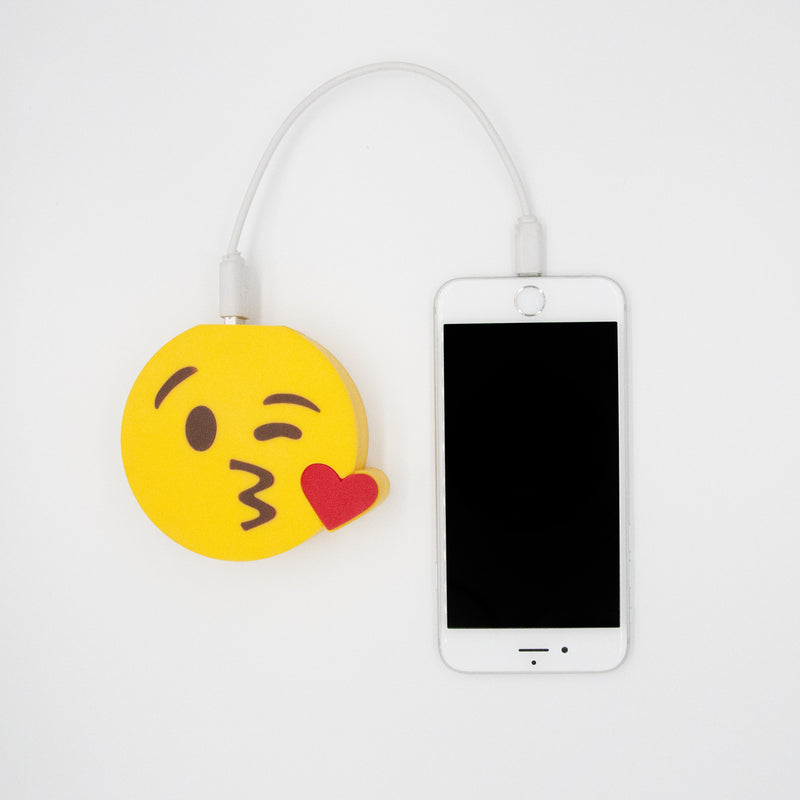 Kissy Face Emoji Power Bank