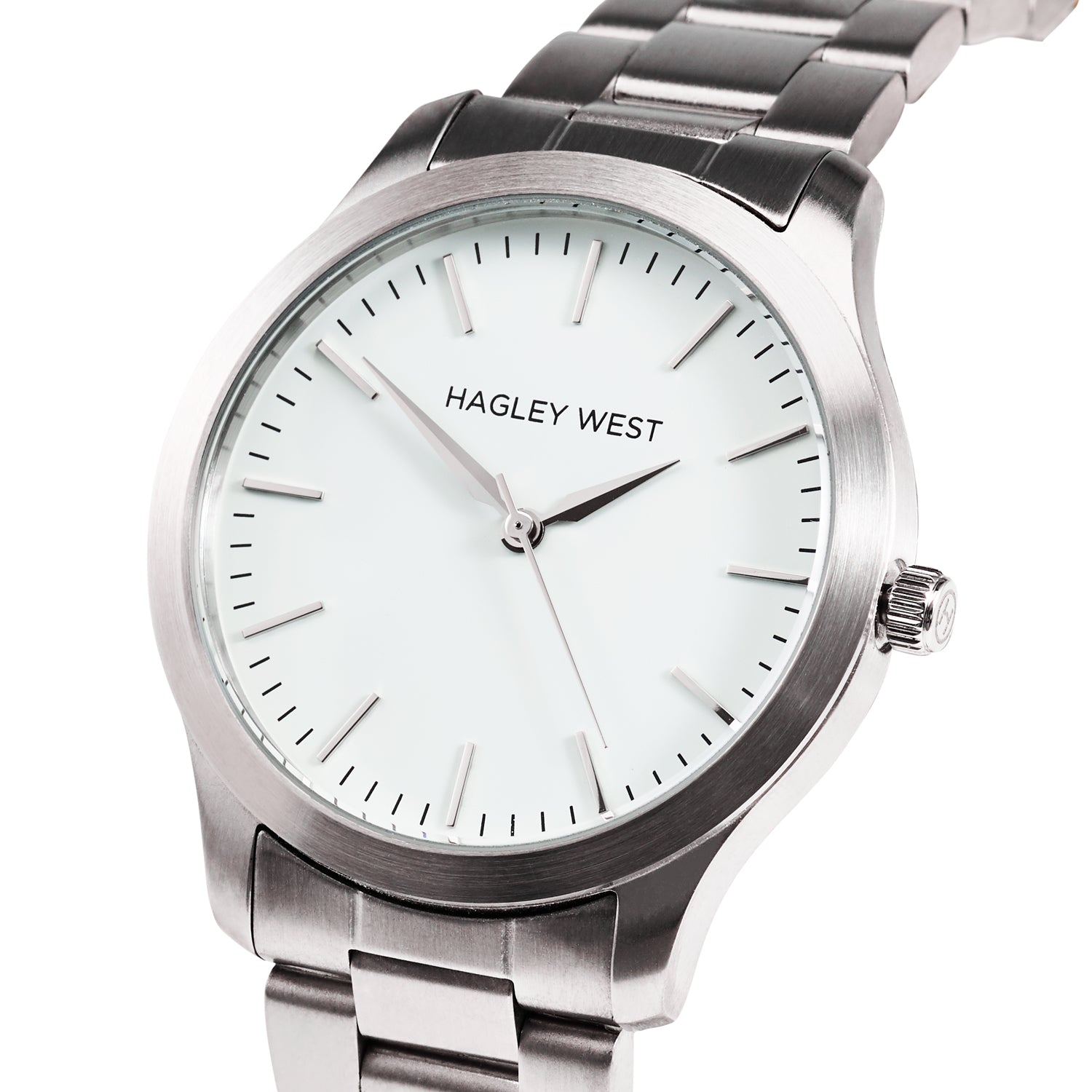 Classic - HWW023 | White/Silver Link