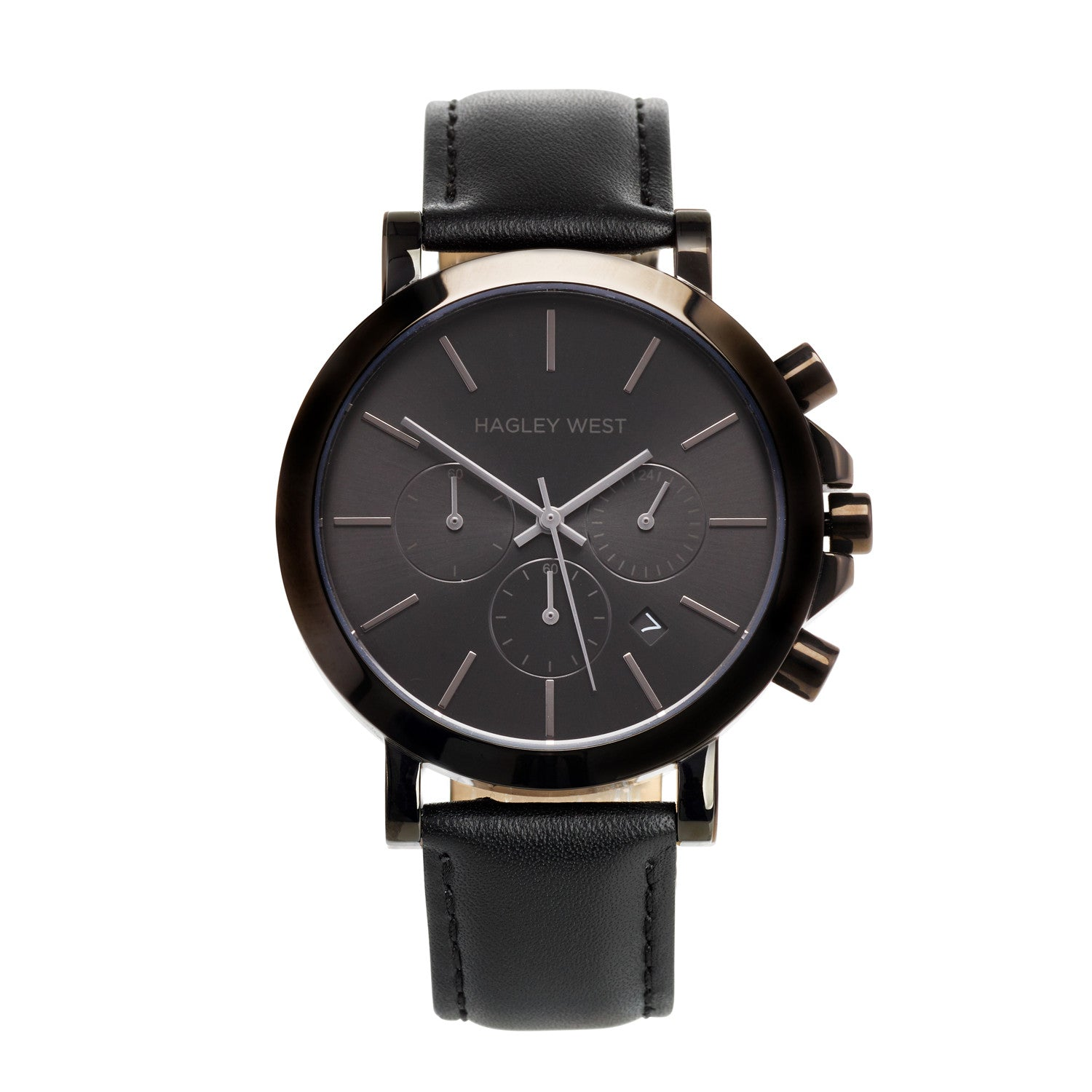 Chrono - HWW014 | Black/Black Leather