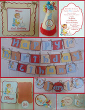 VINTAGE - 1ST BIRTHDAY PARTY PACKAGE