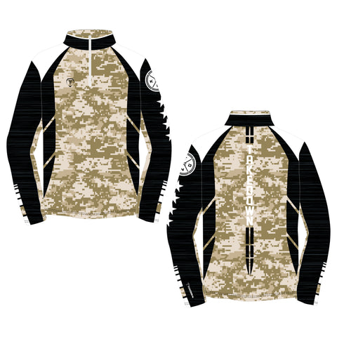 TACTICAL QUARTER ZIP (MADE TO ORDER - 4 COLOR OPTIONS)