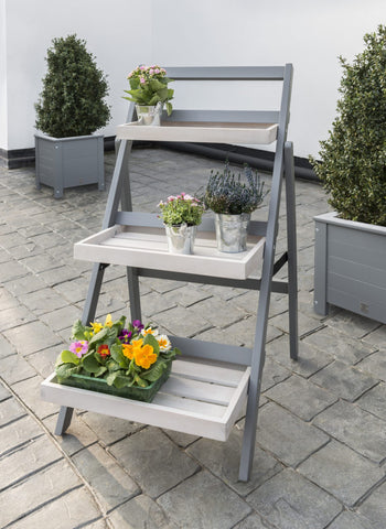 Grigio Folding Pot Shelf