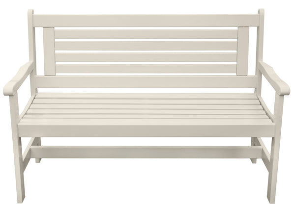 High Back Bench (Cream) FSC 100%