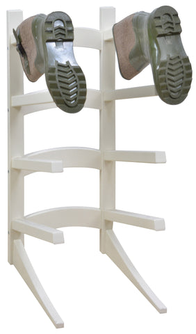 Standing Boot Rack (Cream) FSC 100%